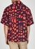 Navy printed cotton shirt - Marni