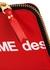 Red leather coin purse - Comme des Garçons