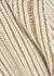 Cream chunky-knit wool-blend jumper - Chloé