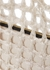 Fey silver crochet top handle bag - MEHRY MU