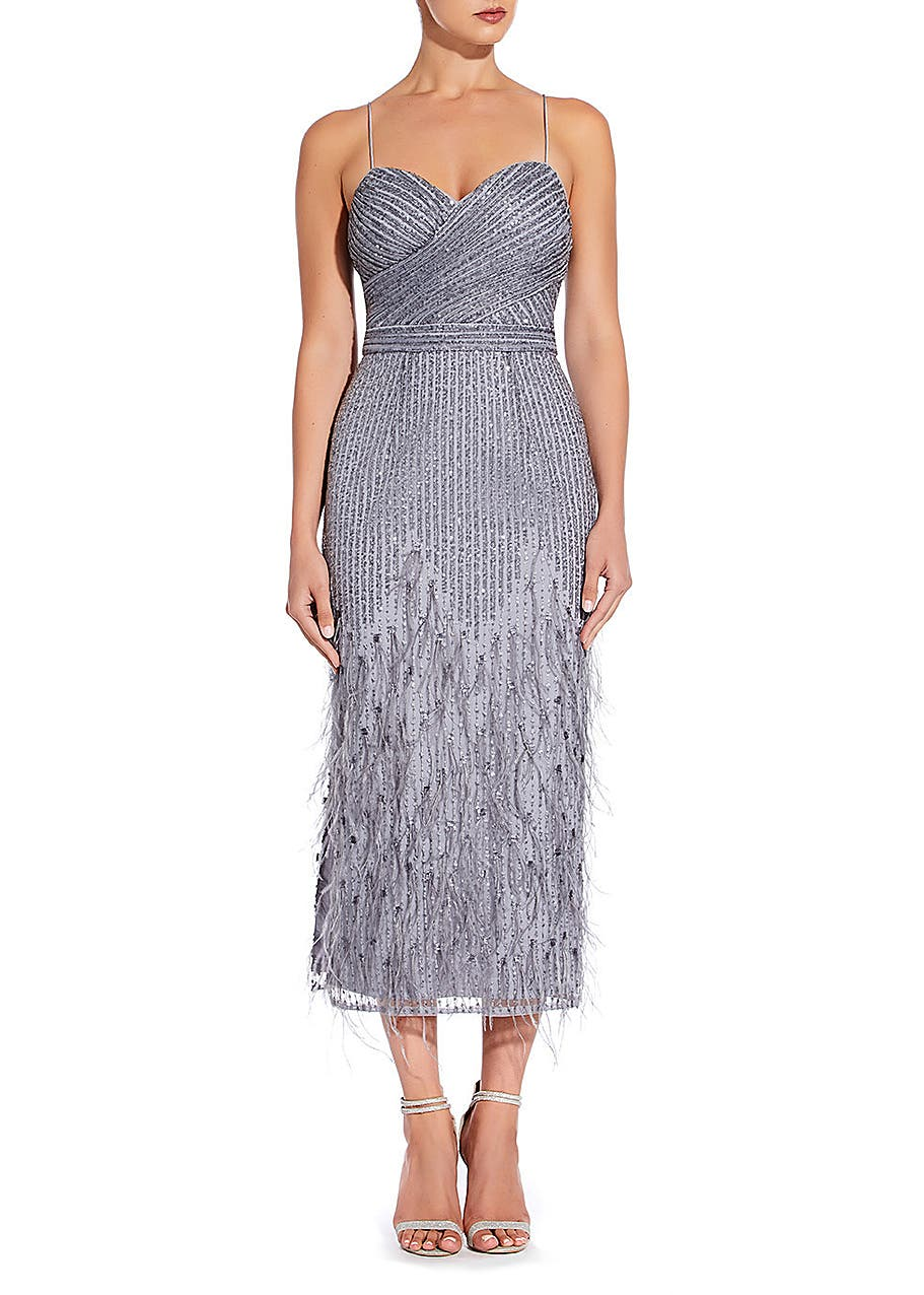 00f850e9398 Midi length sequin gown Midi length sequin gown. New In. Aidan Mattox