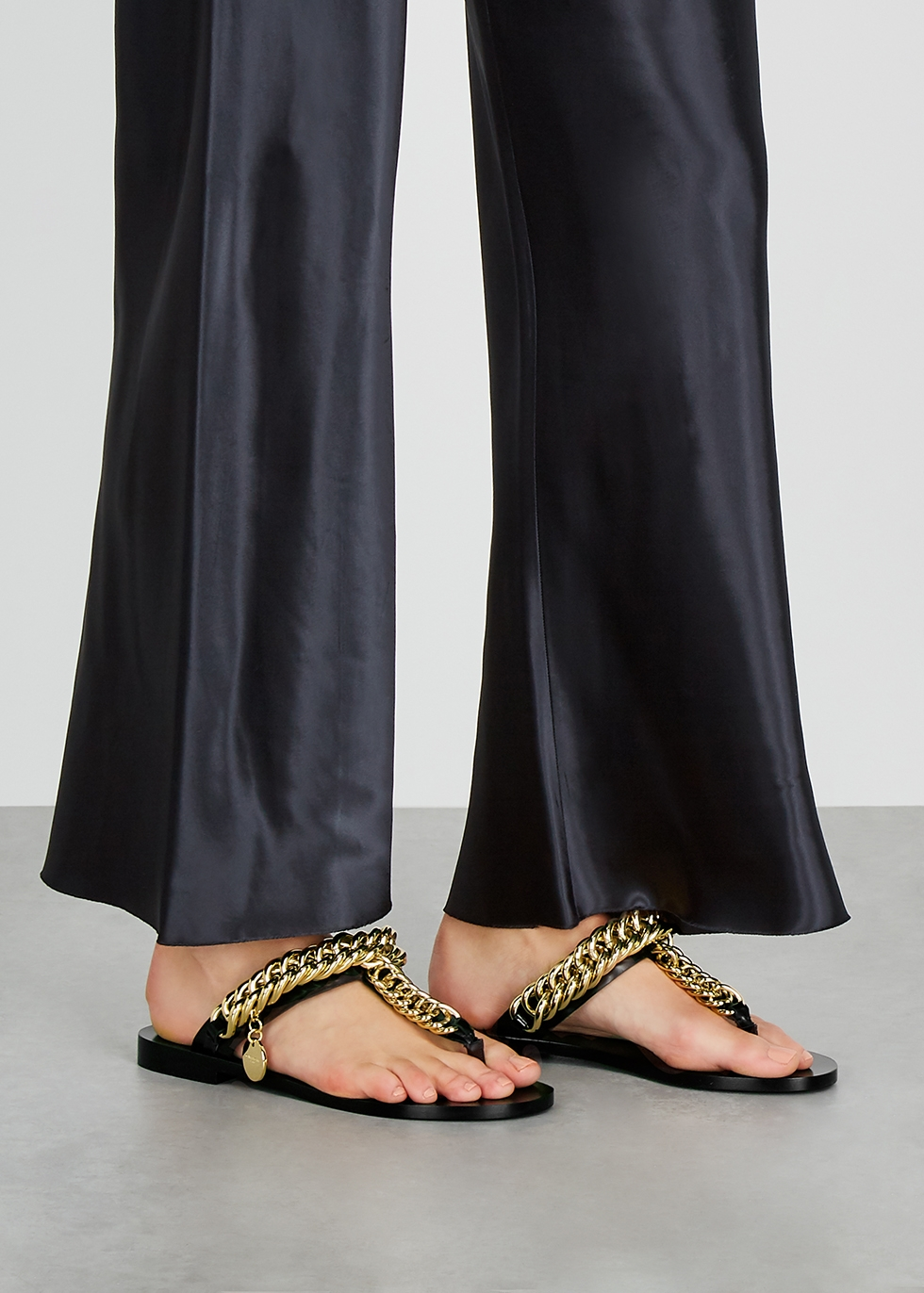 Givenchy Black chain-embellished