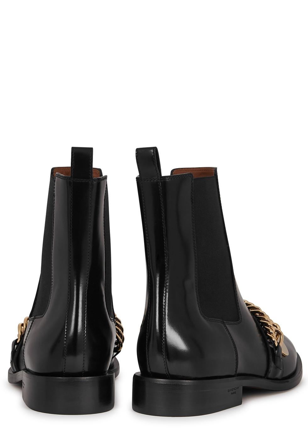 Givenchy Black embellished leather