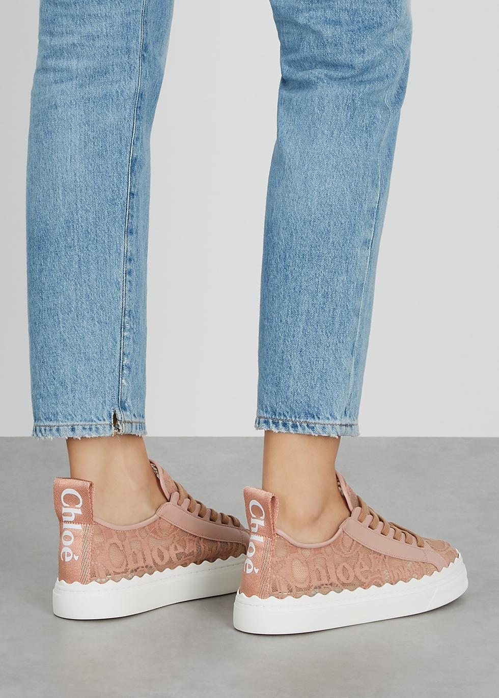 Lauren rose lace sneakers - Harvey Nichols