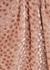 Baxley pink devoré wrap blouse - Petar Petrov