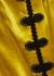 Ginger gold velvet mini dress - De La Vali