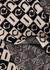 Checked logo wool scarf - Gucci