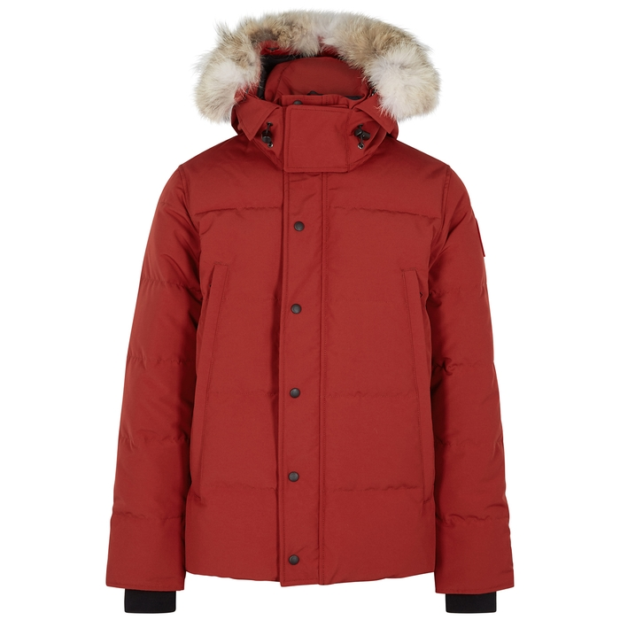 Canada Goose Wyndham Fur-trimmed Arctic-Tech Jacket