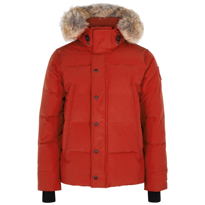 Canada Goose Wyndham Fusion Fit Red Arctic Tech Parka