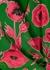 Essie floral-devoré chiffon blouse - Alice + Olivia