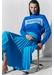 Royal-blue riviera cashmere polo neck sweater - Chinti & Parker