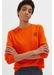 Orange anchor badge cashmere sweater - Chinti & Parker