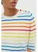 Rainbow breton stripe cashmere sweater - Chinti & Parker