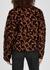 Leopard bouclé-knit bomber jacket - Proenza Schouler