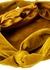 Ascot Two mustard velvet top handle bag - THE ROW
