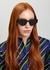 CatStyleDior1 black cat-eye sunglasses - Dior