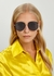 DiorByDior2 gold-tone sunglasses - Dior