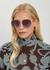 DiorByDior2 rose gold-tone sunglasses - Dior