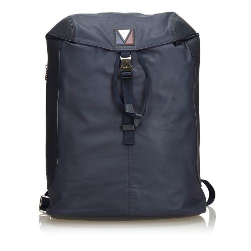 Louis Vuitton Black V-Line Pulse Backpack