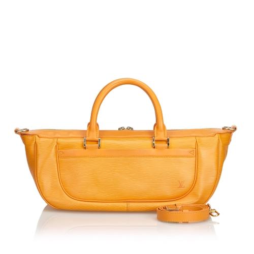 Louis Vuitton Orange Satchel