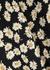 London daisy-print midi skirt - Rails