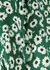 Nova green floral-print wrap skirt - Rails