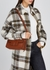 Georgia brown leather top handle bag - Wandler