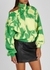 Tie-dyed cut-out cotton sweatshirt - Off-White