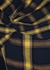 Checked one-shoulder asymmetric flannel dress - MONSE