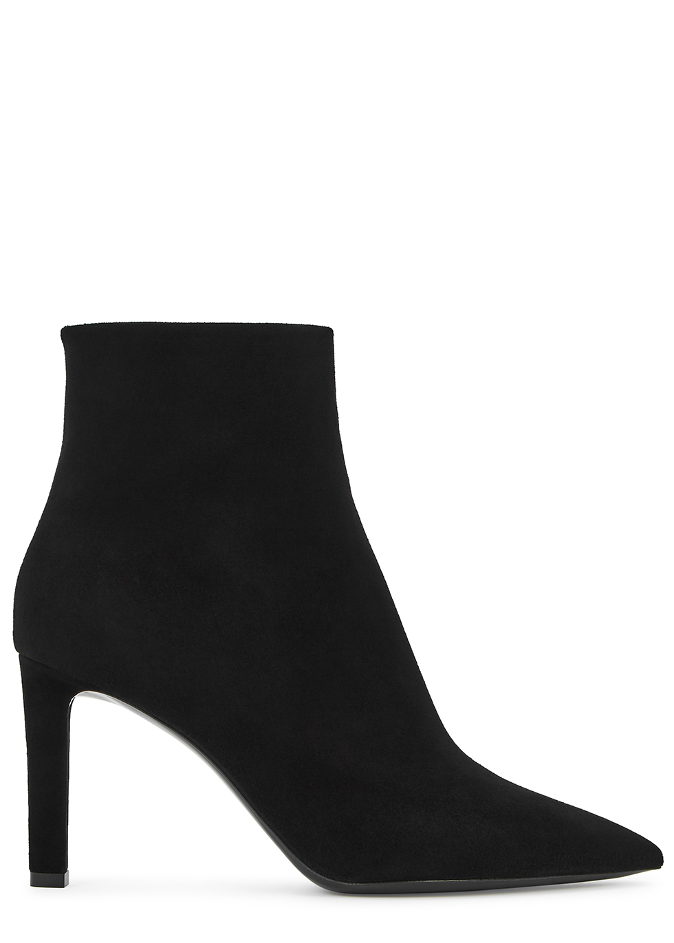 Kate 85 black suede ankle boots