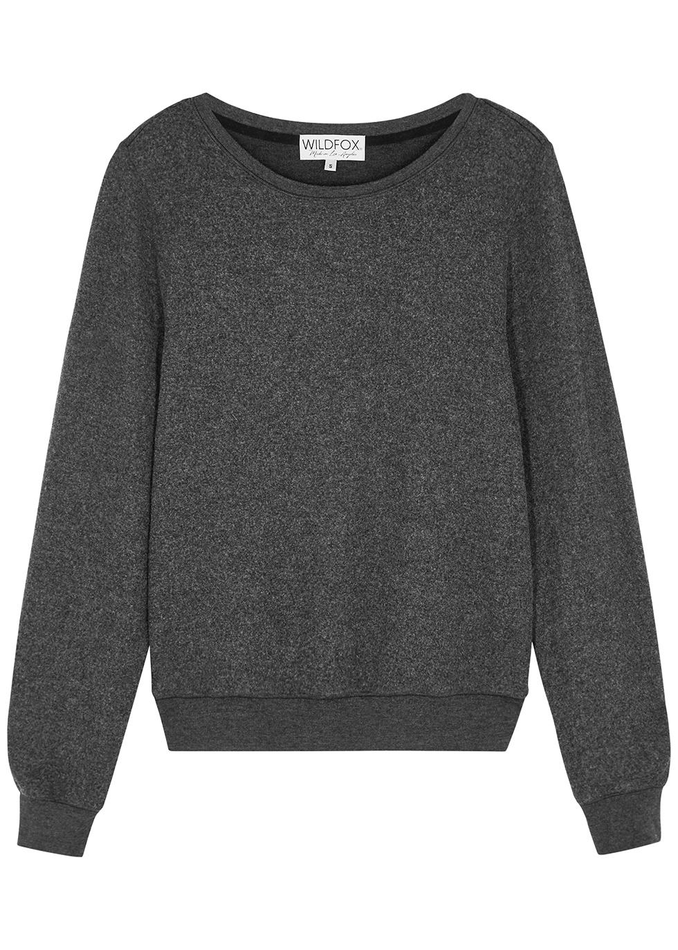 Dark grey mélange sweatshirt