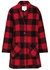 Checked knitted jacket - Woolrich