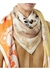 Archive scarf print silk large square scarf - Burberry