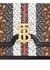 Medium monogram stripe e-canvas TB bag - Burberry