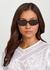Tortoiseshell oval-frame sunglasses - CELINE Eyewear