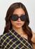Black oversized sunglasses - CELINE Eyewear