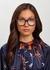 Tortoiseshell optical glasses - CELINE Eyewear