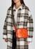 Stella Logo mini orange cross-body bag - Stella McCartney