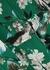 Florence floral-print silk midi dress - Erdem