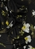 Farrell black floral-print satin-jersey gown - Erdem
