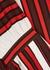 Striped silk crepe de chine blouse - Tory Burch