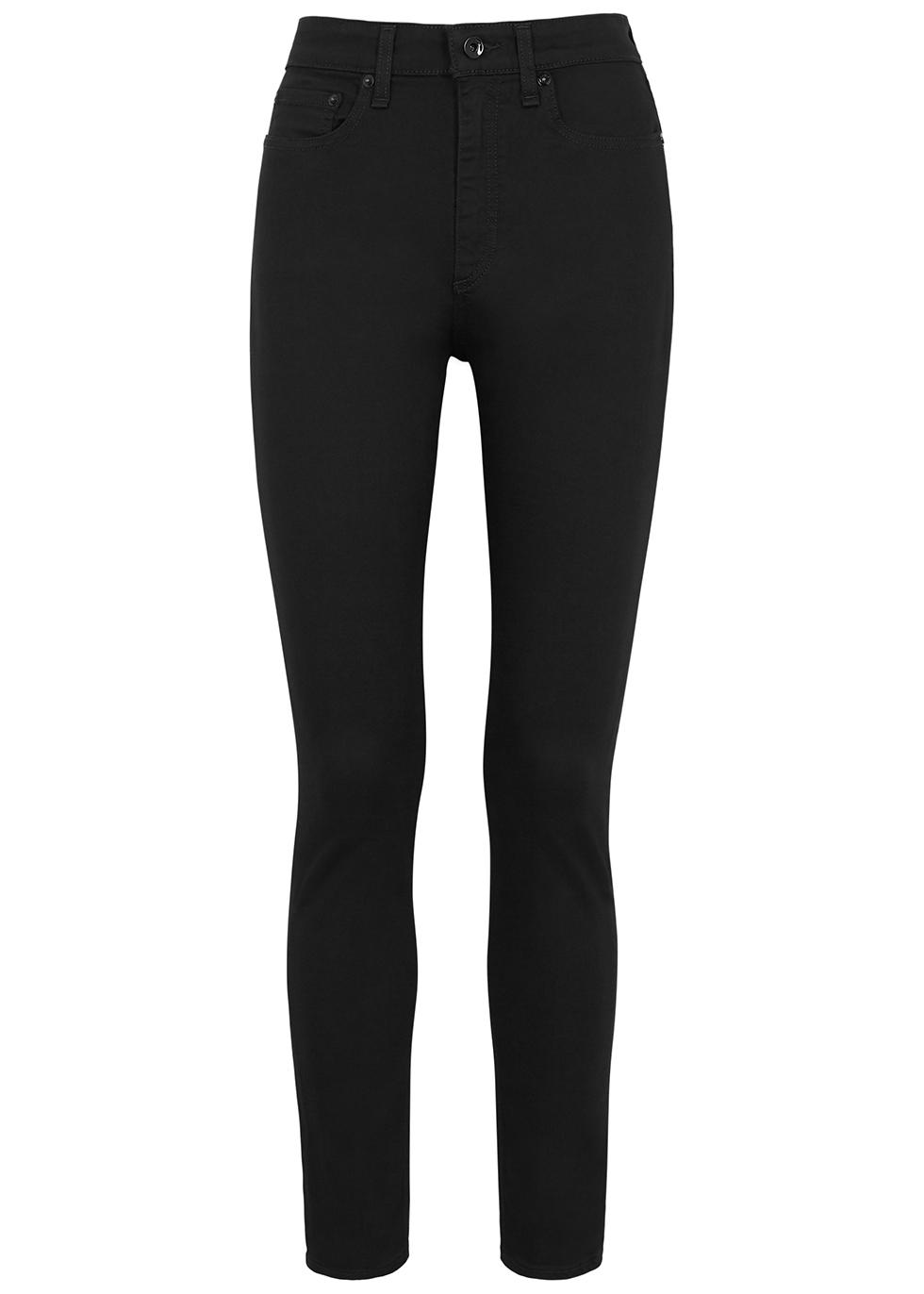 Nina black skinny jeans