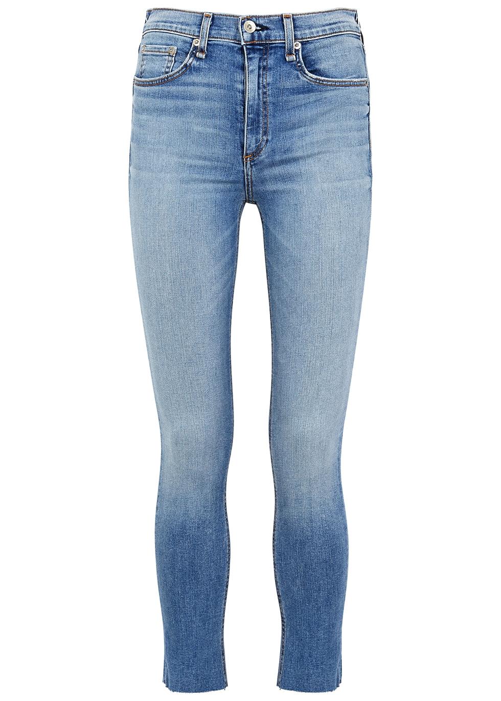 Ellerly light blue skinny jeans