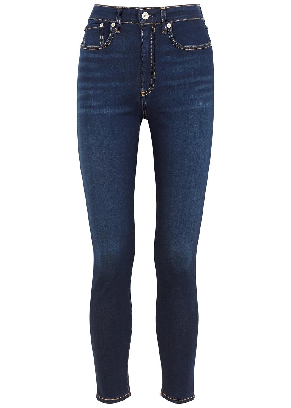 Nina indigo skinny jeans