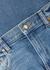 Wendall blue cropped wide-leg jeans - Khaite