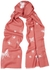 Butterfly embroidered cashmere scarf - Janavi