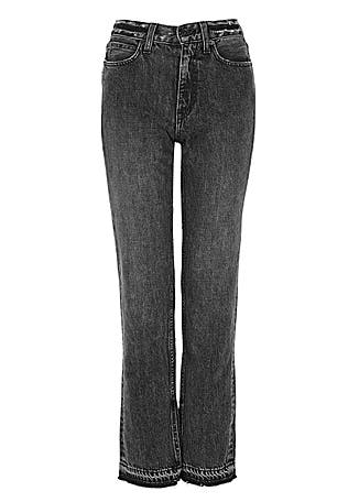 Rider grey straight-leg jeans for $175 Kendall Jenner Pants SIMILAR PRODUCT