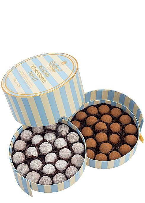 CHARBONNEL ET WALKER Milk & Dark Chocolate Sea Salt Caramel Truffles