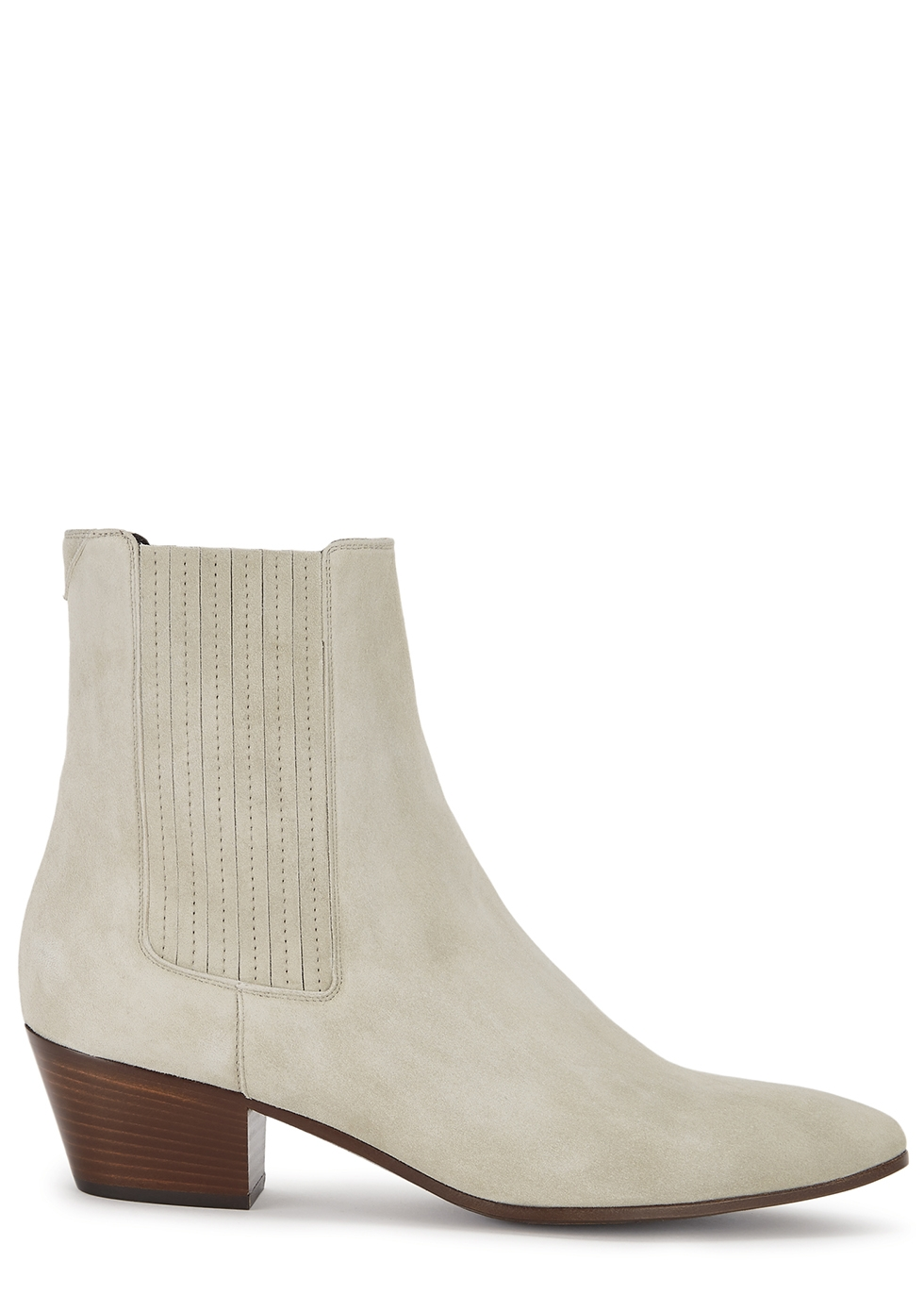 West 45 grey suede Chelsea boots