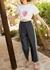 Kaia chambray trousers - Kitri
